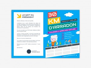 flyer 30 km arradon recto